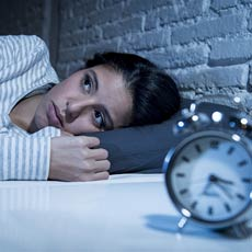 insomnie et tracas de la vie